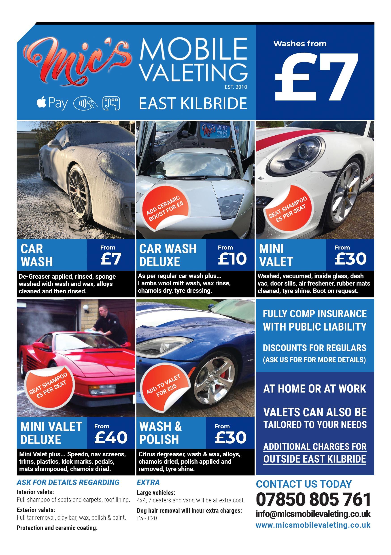 mobile valeting east kilbride flyer